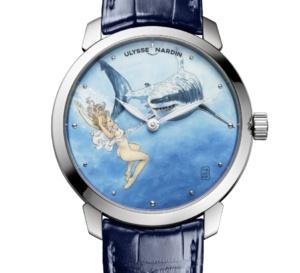 "Ulysse Nardin : des montres ""coquines"" en collaboration avec Manara"