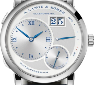 "Lange & Söhne Lange 1 ""25th anniversary""  : 250 exemplaires"