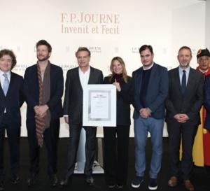 FP Journe : Marion Baruch reçoit le Prix Solo artgenève F.P. Journe 2019