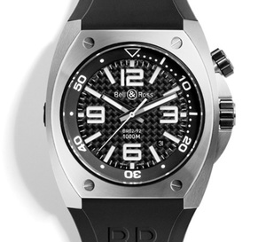 BR 02 Carbon Fiber Dial et Phantom : deux nouvelles venues dans la collection « plongée » de chez Bell & Ross
