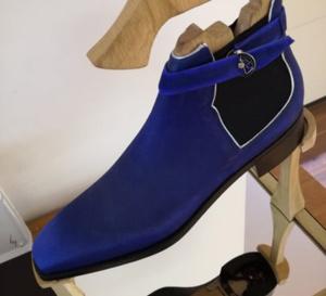 Breguet : une paire de boots en collaboration avec l'Atelier du Tranchet