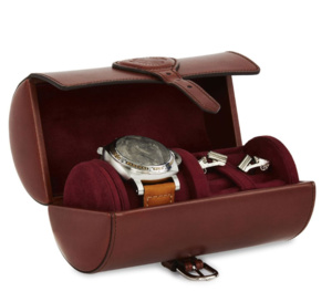 La trousse à montre de voyage Purdey : so chic, so british !
