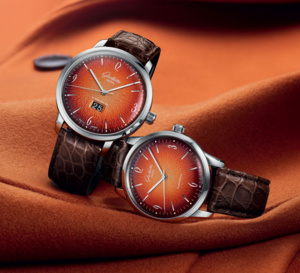 Glashütte Original : une Sixties en orange flamboyant !