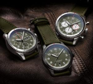 Breitling : trois montres hommage à l'avion Curtiss P-40 Warhawk