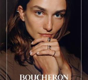 Boucheron dévoile sa nouvelle campagne publicitaire