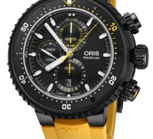 Oris Dive Control Limited Edition : plongeuse hors-norme à moins de 5.000 euros