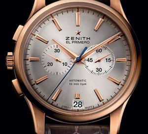 Only Watch 2011 : deux chronographes Zenith « gaucher » au profit de la recherche médicale