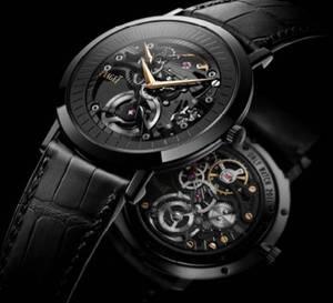 Piaget Only Watch 2011 : une Altiplano calibre squelette 838P et boitier en PVD noir