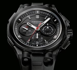 Concord C2 All-Matte Black Chronograph : noir, c'est noir mat…