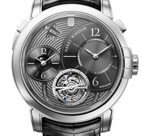 Harry Winston Only Watch 2011 : Midnight GMT Tourbillon