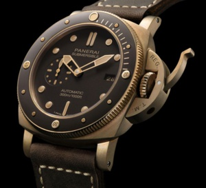 Panerai Submersible Bronzo : elle entre en collection