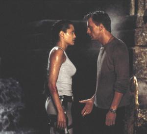 Lara Croft, Tomb Raider : Daniel Craig porte une Breitling Chronomat