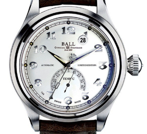 Ball Trainmaster Celsius : la montre qui donne l'heure et la température extérieure