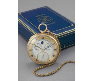 La montre de poche personnelle de George Daniels vendue aux enchères à Genève