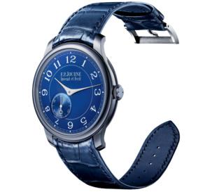 Chronomètre Bleu F.P. Journe : l'investissement plaisir par excellence