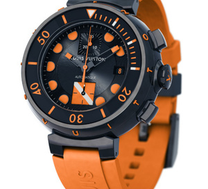 Louis Vuitton Tambour Diving II Chronographe Only Watch 2011