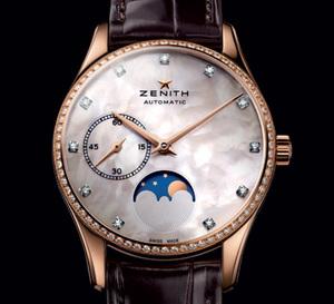 Zenith Ultrathin Lady Moonphase et Zenith El Primero 38mm lady : deux montres mécaniques dédiés à l'éternel féminin…