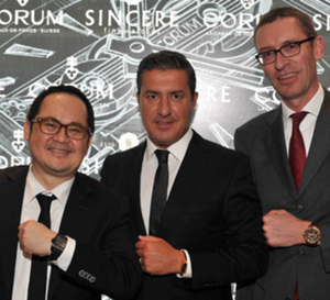 Singapour : Corum rend hommage à la Golden Bridge Automatic