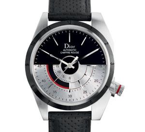 Dior Chiffre Rouge M01 39 mm : avec masse oscillante fonctionnelle sur le cadran