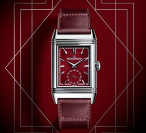 Jaeger-LeCoultre Reverso Tribute Small Seconds : rouge sang à l'honneur