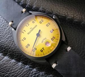 MeisterSinger Metris : de la rareté du jaune