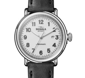 Shinola The Runwell Automatic : rétro-chic accessible