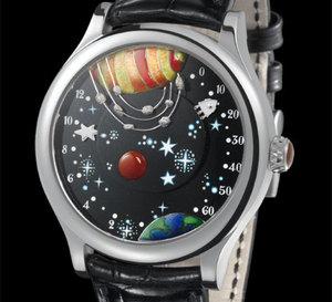 Van Cleef & Arpels Complication Poétique De la Terre à la Lune : pure merveille