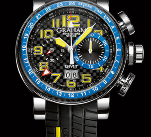 Graham Silverstone Stowe GMT Blue and Yellow : pole position