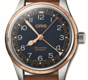 Oris Big Crown Pointer Date: intéressante version acier et bronze