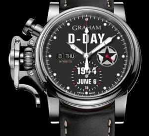 Graham Chronofighter Vintage D-Day : le jour le plus long
