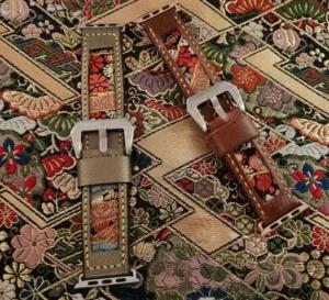 Singapour : 47 Ronin, des bracelets-montres en tissu de kimono