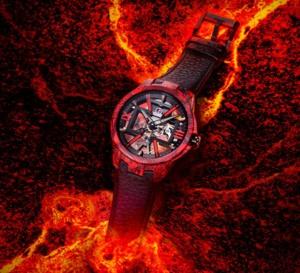 Ulysse Nardin Skeleton x Magma : pour un poignet en fusion