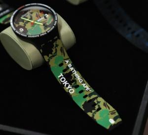 Swatch x BAPE : collector en puissance