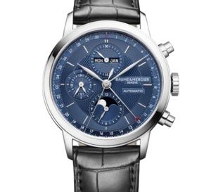 Baume et Mercier Classima : chrono et calendrier complet