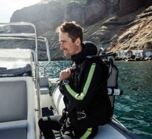 IWC mesure la température de l'océan avec Cousteau Divers
