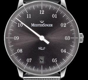 MeisterSinger Neo : désormais proposée sur maille milanaise