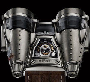 Horological Machine No4 Razzle Dazzle & Double Trouble : du vintage version MB&F