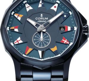 Corum Admiral Legend : toute de bleu vêtue !