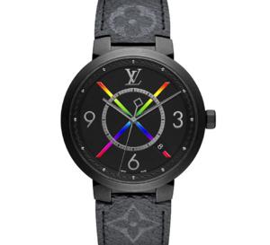Louis Vuitton Tambour Slim Rainbow : lumineux arc-en-ciel