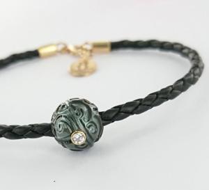 JDL Paris Création : des bracelets pour hommes en perles rares incrustées de gemmes