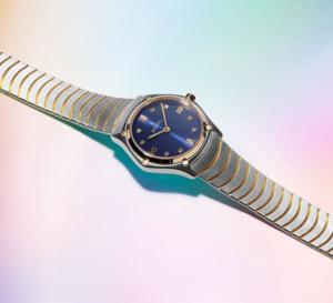 Ebel Sport Classic Lady : la belle bleue !