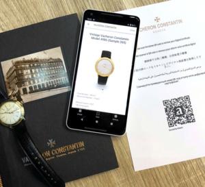 Vacheron Constantin : lancement de la certification Blockchain