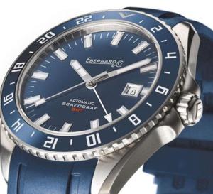 Eberhard & Co Scafograf GMT : quand une plongeuse se fait voyageuse