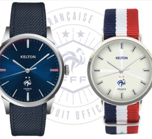 Kelton : des montres avec la Fédération française de football