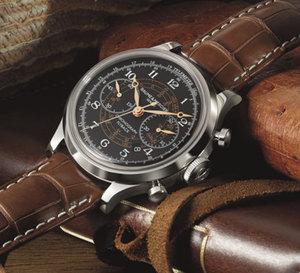 Baume & Mercier : un chrono Capeland totalement vintage pour 2012