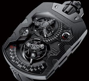 Urwerk UR-1001 Zeit Device : la mesure du temps, de la seconde au millier d'années !