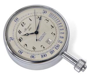 Une montre Breguet pour Bugatti exposée à la Cité de l'Automobile de Mulhouse