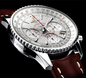 La Breitling Montbrillant 01 Limited vue par Jacques Ecrement, de la boutique Forges à Paris