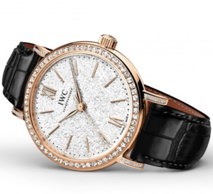 IWC Portofino 34 mm : la montre classique au féminin