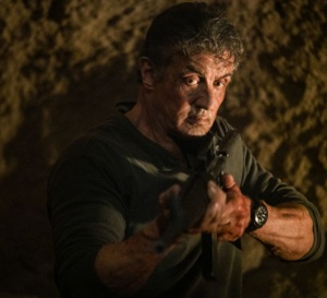 Rambo Last Blood : Sylvester Stallone porte une Patravi Scubatec Carl F. Bucherer